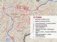 Mapa segunda etapa. Imagem: SMT/Divulgação