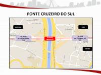Ponte Cruzeiro do Sul. Imagem: SMT/Divulgação