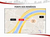 Ponte dos Remédios. Imagem: SMT/Divulgação