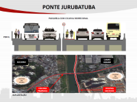 Ponte Jurubatuba. Imagem: SMT/Divulgação