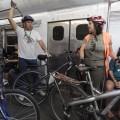 Ciclistas podem transportar bicicletas nos trens da Supervia também durante a semana, a partir das 21h. Foto: Programa Rio Estado da Bicicleta