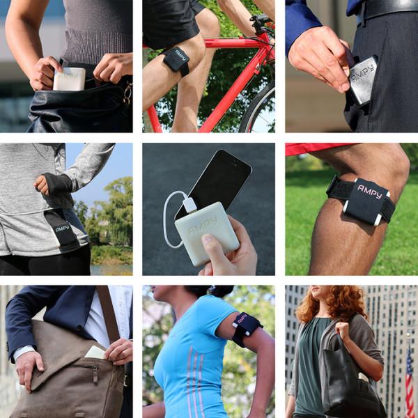 Dispositivo acumula energia gerada por pedalada, caminhada ou corrida. Foto: Divulgação
