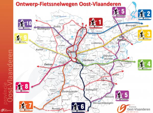 Mapa de rotas da Bélgica. Imagem: Divulgação
