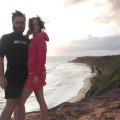 Casal publica fotos e vídeos em sua fan page. Na imagem, estavam na Praia de Pipa (RN). Foto: Vivir en Ruta