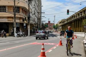 Área hoje é utilizada como ciclofaixa de lazer aos domingos e feriados. Foto: André Sobral/Divulgação
