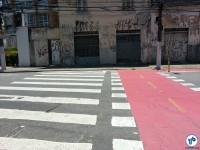 R. França Pinto, cruzamento com a R. Tangará. Foto: Willian Cruz