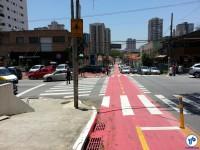 Olhando de volta: semáforo para ciclistas na R. 1º de janeiro, esquina com a Altino Arantes. Foto: Willian Cruz