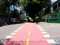 Al. dos Boninas, esquina com R. dos Crisântemos. Foto: Willian Cruz