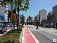 Av. Jabaquara, em frente ao Metrô Saúde. Foto: Willian Cruz