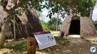 Índios, que já ocupavam a área séculos antes, também tiveram participação no quilombo. Foto: Willian Cruz