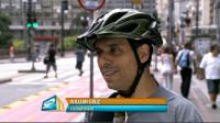Veja nossa participação no SP TV, com dicas de utilização para um compartilhamento amigável. Imagem: TV Globo/Reprodução