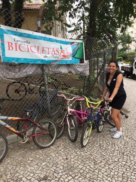 Cicloativo está no quarto ano de campanha de arrecadação. Foto: Divulgação/Cicloativo