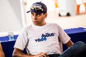 Willian Cruz, do Vá de Bike, esteve presente no debate. Foto: Maximiliano Blanco-Shimano