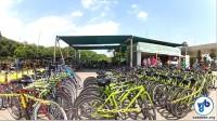 Bicicletas de aluguel no Parque Villa-Lobos. Foto: Rachel Schein