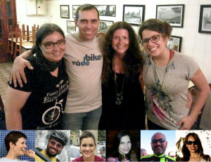 Nossa equipe: Lívia Araújo, Willian Cruz, Rachel Schein, Aline Cavalcante, Sabrina Duran, Enzo Bertolini, Verônica Mambrini, Priscila Cruz, Fábio Nazareth e Aline Souza.