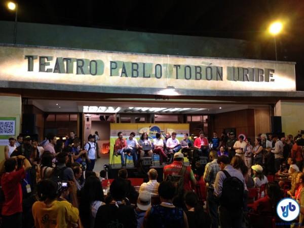 Abertura do Fórum atraiu muita gente em Medellín, vindo de várias partes do mundo. Foto: Fabio Nazareth