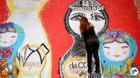 Pedalada grafites 23 de maio com Haddad 01 - Foto Rachel Schein