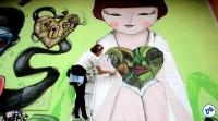 Pedalada grafites 23 de maio com Haddad 10 - Foto Rachel Schein