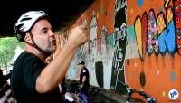 Pedalada grafites 23 de maio com Haddad 15 - Foto Rachel Schein