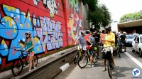 Pedalada grafites 23 de maio com Haddad 18 - Foto Rachel Schein