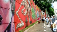 Pedalada grafites 23 de maio com Haddad 21 - Foto Rachel Schein