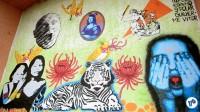 Pedalada grafites 23 de maio com Haddad 45 - Foto Rachel Schein