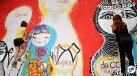 Pedalada grafites 23 de maio com Haddad 51 - Foto Rachel Schein