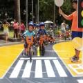 Crianças aprenderão a pedalar com segurança. Foto: Studio Samuel Cerqueira