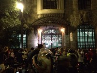 Ciclistas em frente ao Ministério Público, no centro de São Paulo. Foto: Alex Gomes/Bike Zona Sul