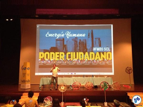 Capital chilena será sede do Fórum Mundial da Bicicleta em 2016. Foto: Fabio Nazareth