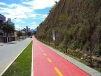 Ciclovia da avenida Munir Hilal. Foto: Divulgação/PMV