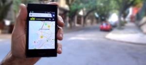 App permite que usuários avaliem as travessias de Porto Alegre. Foto: Divulgação/Mobicidade