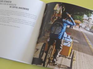 Publicação apresenta especificidades da bike em diversas cidades brasileiras. Foto: Lívia Araújo