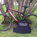 Uma das bicicletas roubadas recuperadas pela polícia civil. Foto: Reprodução