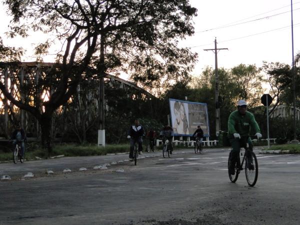 Ação contabilizou um fluxo de 1.618 ciclistas na região central da cidade. (Foto: divulgação Transporte Ativo)