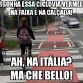 meme ciclovia italia