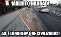 meme ciclovia londres
