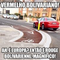 meme ciclovia vermelha