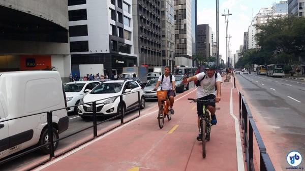 Obras ciclovia Paulista 2015-06-18 - Foto Willian Cruz 034