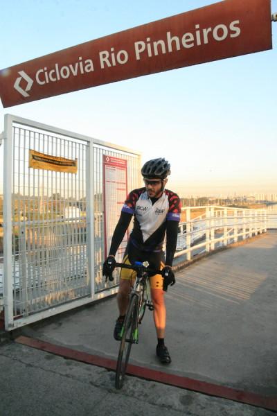 Contagem realizada pela Ciclocidade registrou 1062 ciclistas em 14 horas. Foto: Fabio Miyata