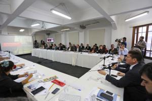 Reunião do Conselho da Cidade teve a presença de secretários e do prefeito Fernando Haddad. Foto: Fábio Arantes/Secom