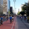 Paulista aberta atraiu milhares de pessoas na inauguração da ciclovia. Foto: Willian Cruz