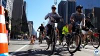 Av. Paulista concentrará várias atividades com bicicleta no domingo. Foto: Willian Cruz