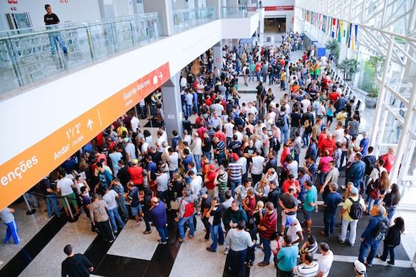 Edição passada da Brasil Cycle Fair. Foto: Divulgação