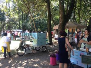 Food Bike no Museu da Casa Brasileira. Foto: Ana Sniesko