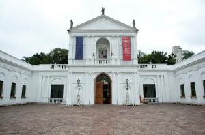 Museu da Casa Brasileira, na Av. Faria Lima. Com ciclovia na porta e bicicletário na área interna. Foto: Chema Llanos/Divulgação