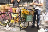 Muffins também estiveram entre as opções disponíveis nas food bikes. Foto: Gulherme Venaglia