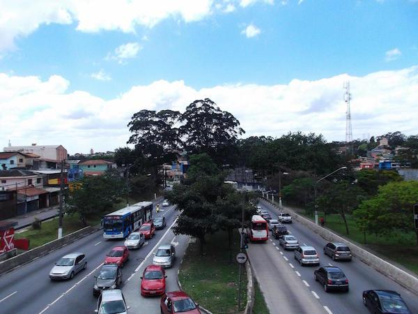 Avenida Teotônio Vilela, na zona sul da capital paulista. Foto: Paulo Alves