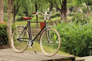 Vela: bicicleta nasceu a partir de financiamento coletivo. Foto: Divulgação