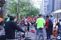Curso de Primeiros Socorros / Bike Resgate, na Praça do Ciclista. Foto: Flavio Bonanome